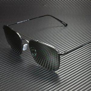 Giorgio Armani Men's Matte Black Green Sunglasses!